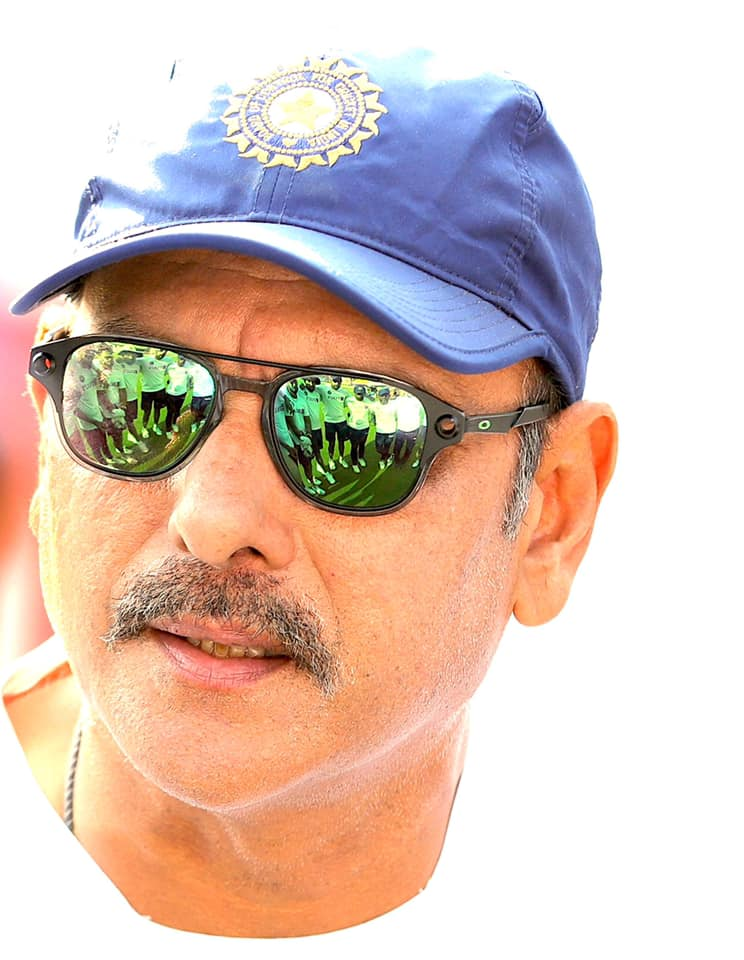 Ravi Shastri, the master, may become the Coach of Team India soon (Image Credits: Facebook | Ravi Shashtri)