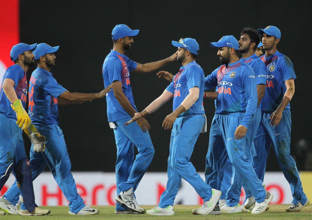 Nidhas trophy 2018 India vs Sri Lanka 4th T20I