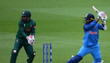 Karthik wins it for India
