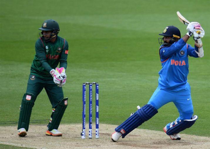 Karthik wins it for India