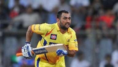 Dhoni in IPL