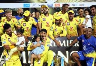 IPL 2018 champions