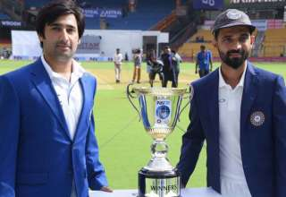 India afghanistan test series