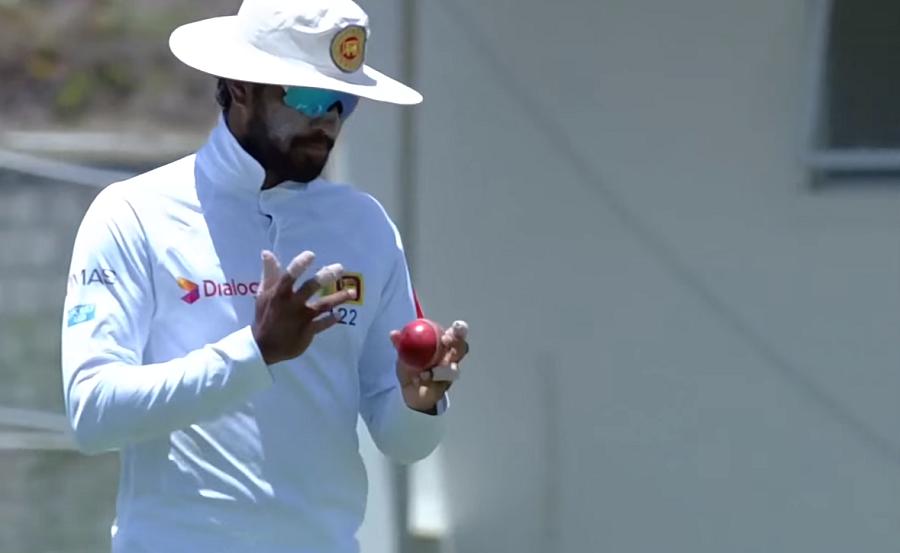 West Indies vs Sri Lanka Ball tampering