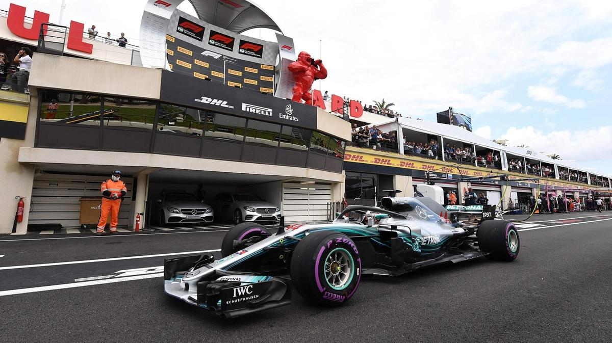 Hamilton storms to pole at Circuit Paul Ricard as F1 returns to France 3