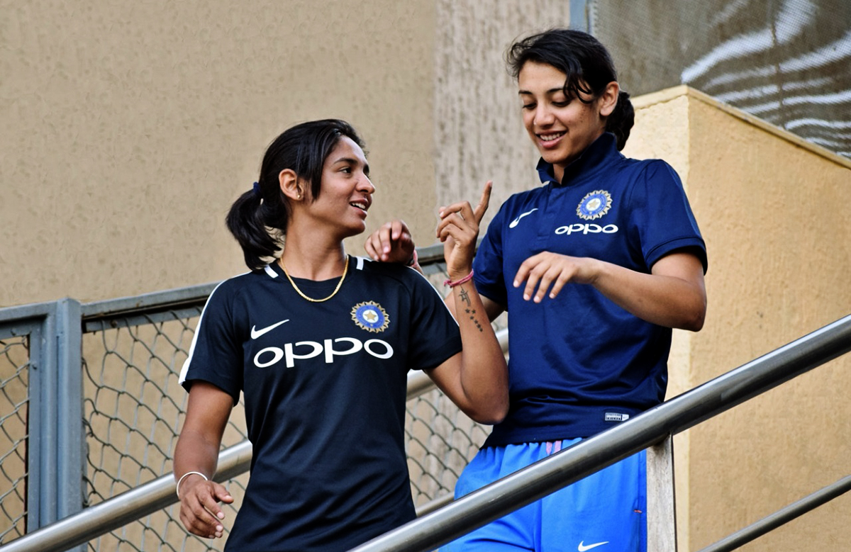 Mandhana can launch herself at the top in Harmanpreets side