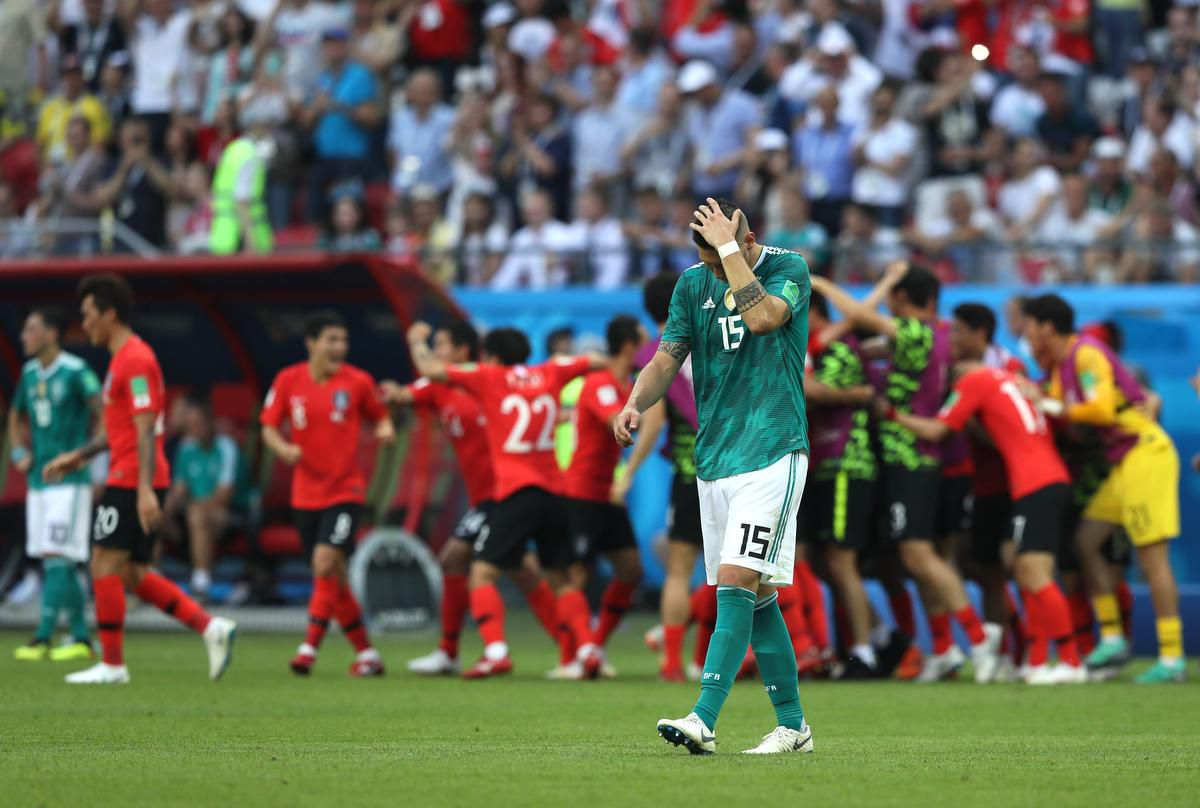 Germany exit from FIFA World Cup 2018
