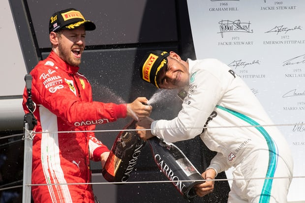 Vettel stuns at Silverstone as Hamilton finishes second in accident-prone British Grand Prix 2