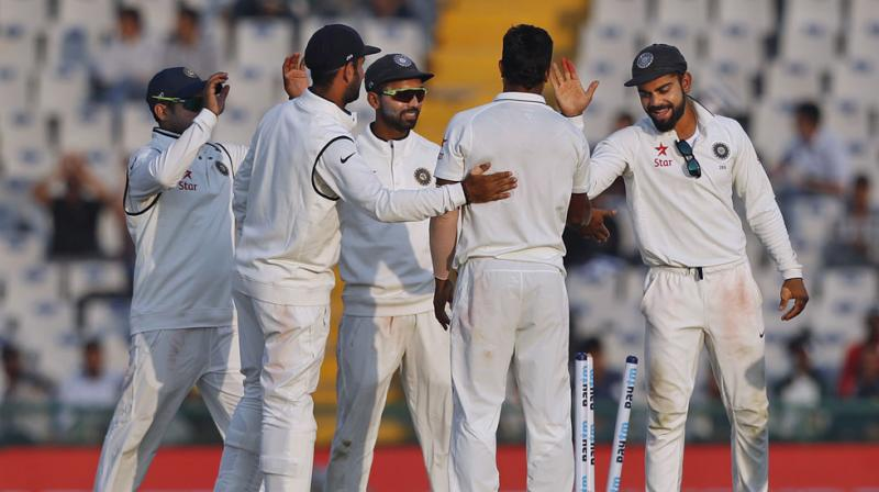 India stayed alive after defeating England in the third test match (Image: Deccan Chronicle)