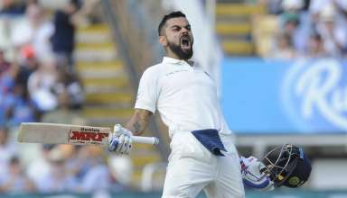 Virat Kohli Edgbaston Test