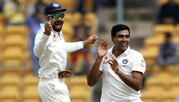 Did Kohli get it wrong by playing a half-fit Ashwin at Southampton (Image: Zee News)