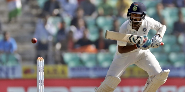 Pujara showed his true worth by scoring a timely century (Image: NewIndianExpress)