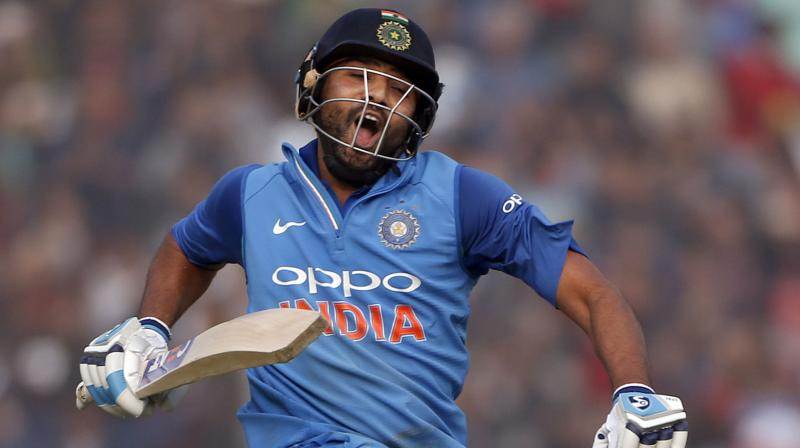 Rohit Sharma is having a great time as the Skipper of Indian side in Kohli's absence(Image: Hindustan Times)