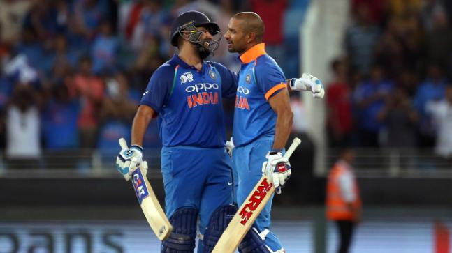 Rohit and Shikhar Dhawan have been phenomenal in providing India solid starts at the top (Image: India Today0