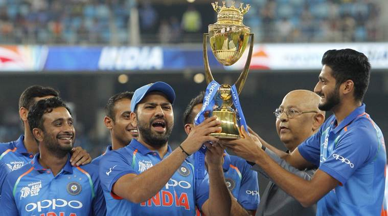 India win a thriller against Bangladesh to lift ASIA CUP 2018 (Image: The Indian Express)