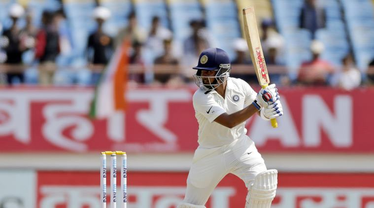 Prithvi Shaw scored a quick century to give India a solid start (Image: The Indian Express)