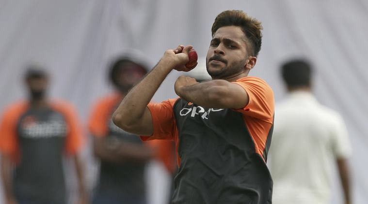 Shardul bowled only 10 balls before he had to leave the field (Image: Indian Express)