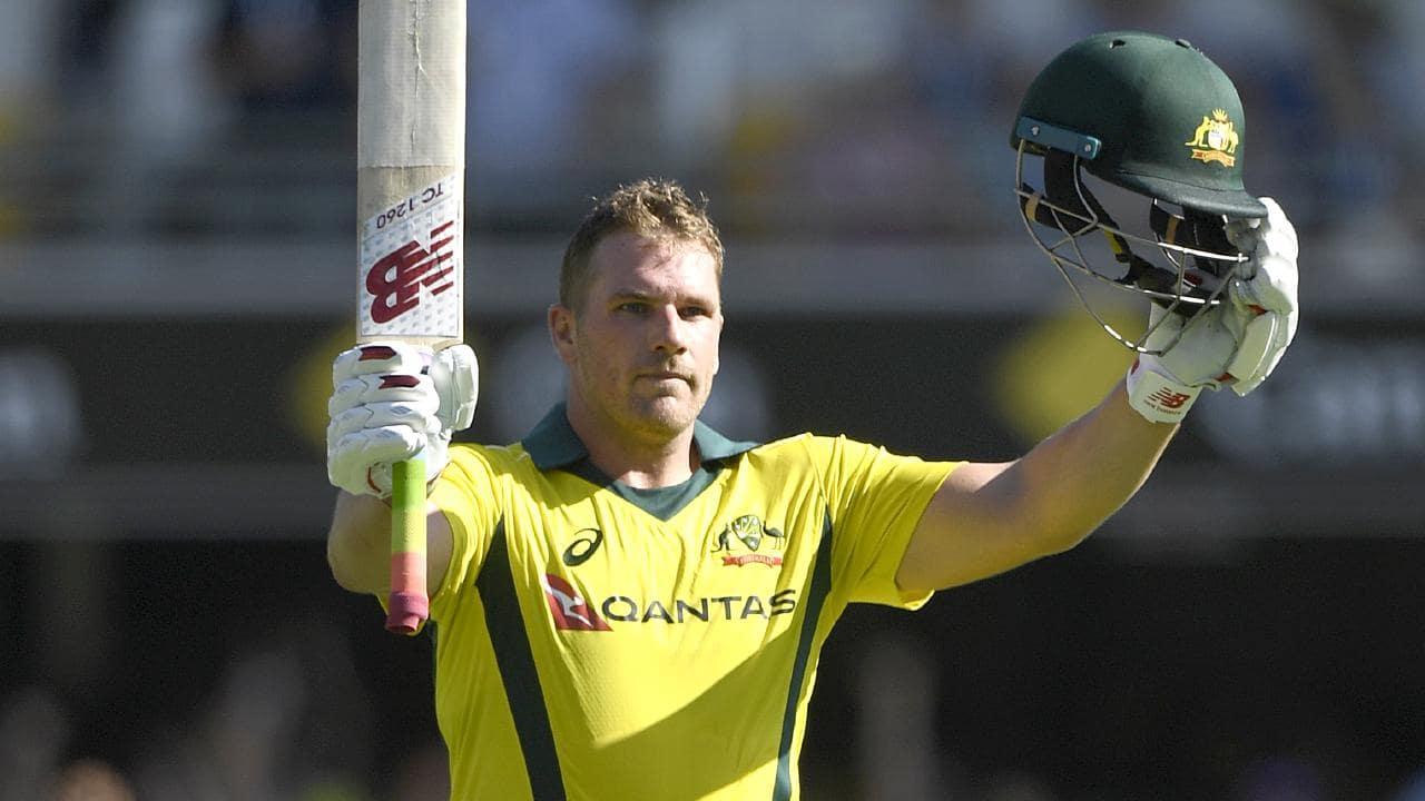 Aaron Finch has been handed the Australian Team's ODI captaincy (Image: Fox Sports)