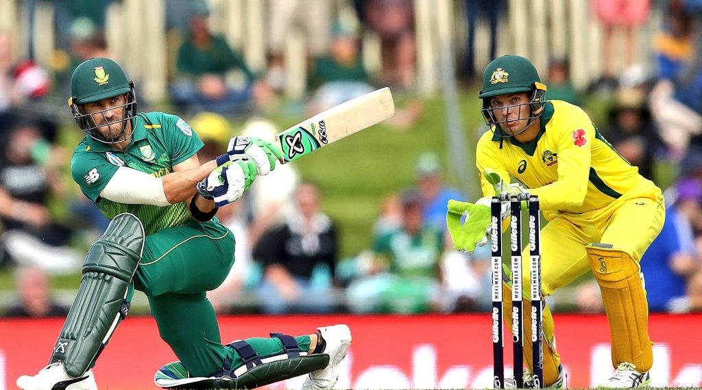 Faf du Plesis played a masterclass and scored a fine century against the Aussies (Image: The South African)