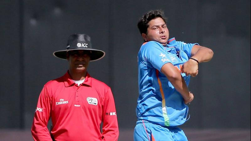 Kuldeep Yadav had a phenomenal 2018 in the coloured outfit
