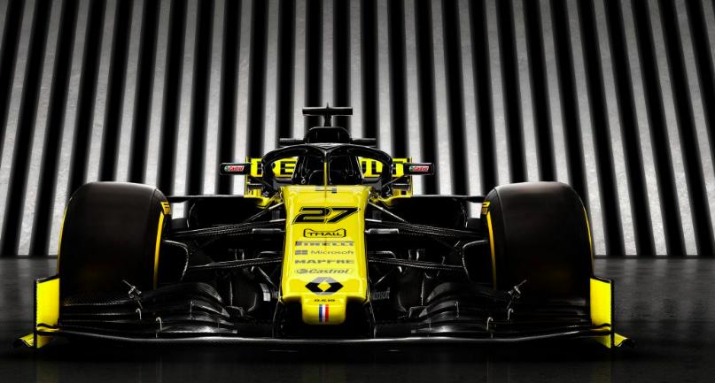 Renault 2019 F1 car