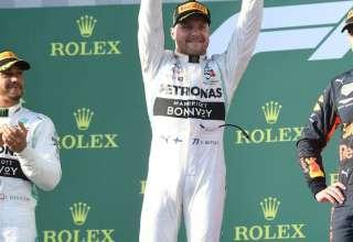 Bottas wins Australian GP 2019