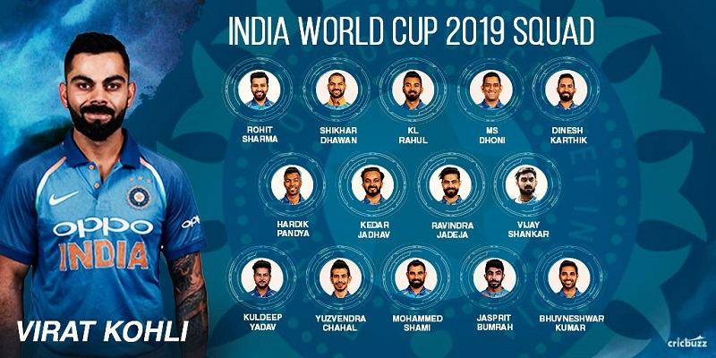Analysis Of India's 15-member squad for ICC World Cup 2019 11