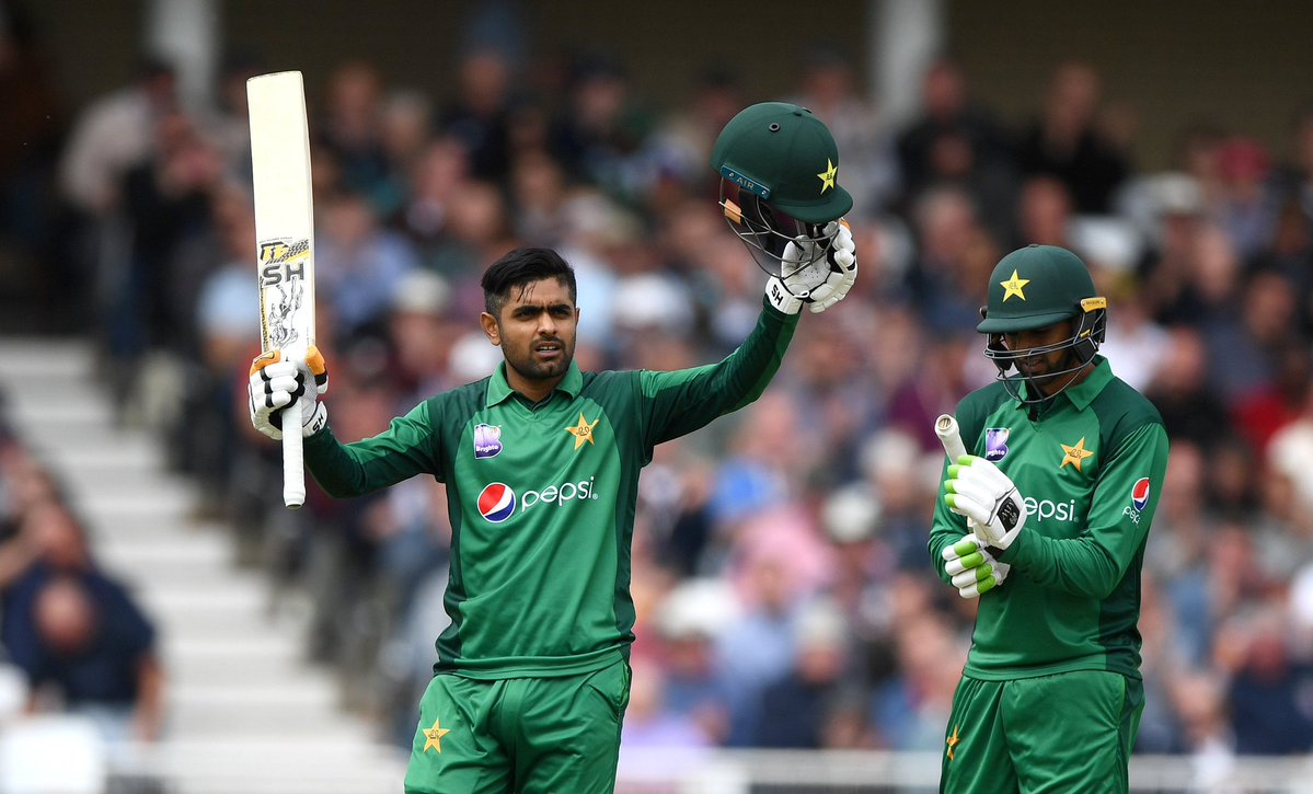 Babar Azam from Pakistan