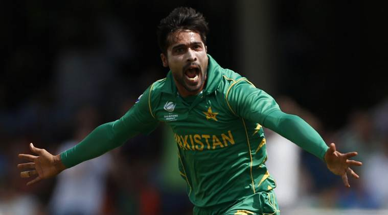 Mohammad Amir has been lethal in the World Cup (Image: Indian Express)
