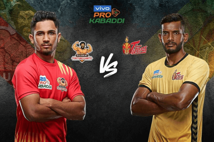 PKL 2019 Telugu Titans vs Gujrat Foenighters