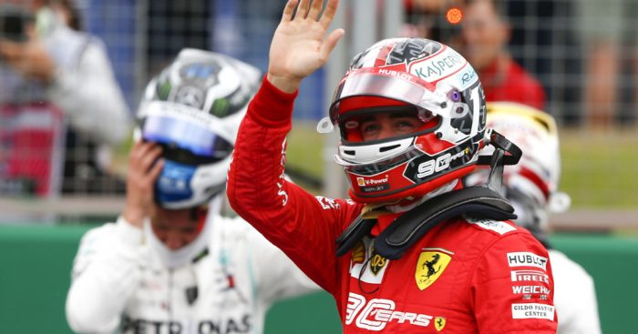 Charles Leclerc praises Spa