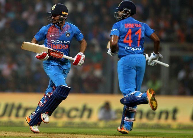 Pandey and Kohli