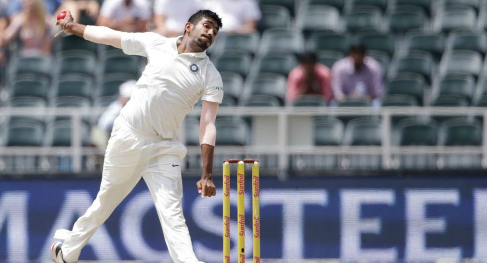Jasprit Bumrah to miss Tests against South Africa
