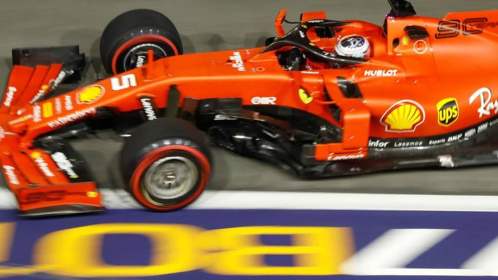 Leclerc on pole at Singapore