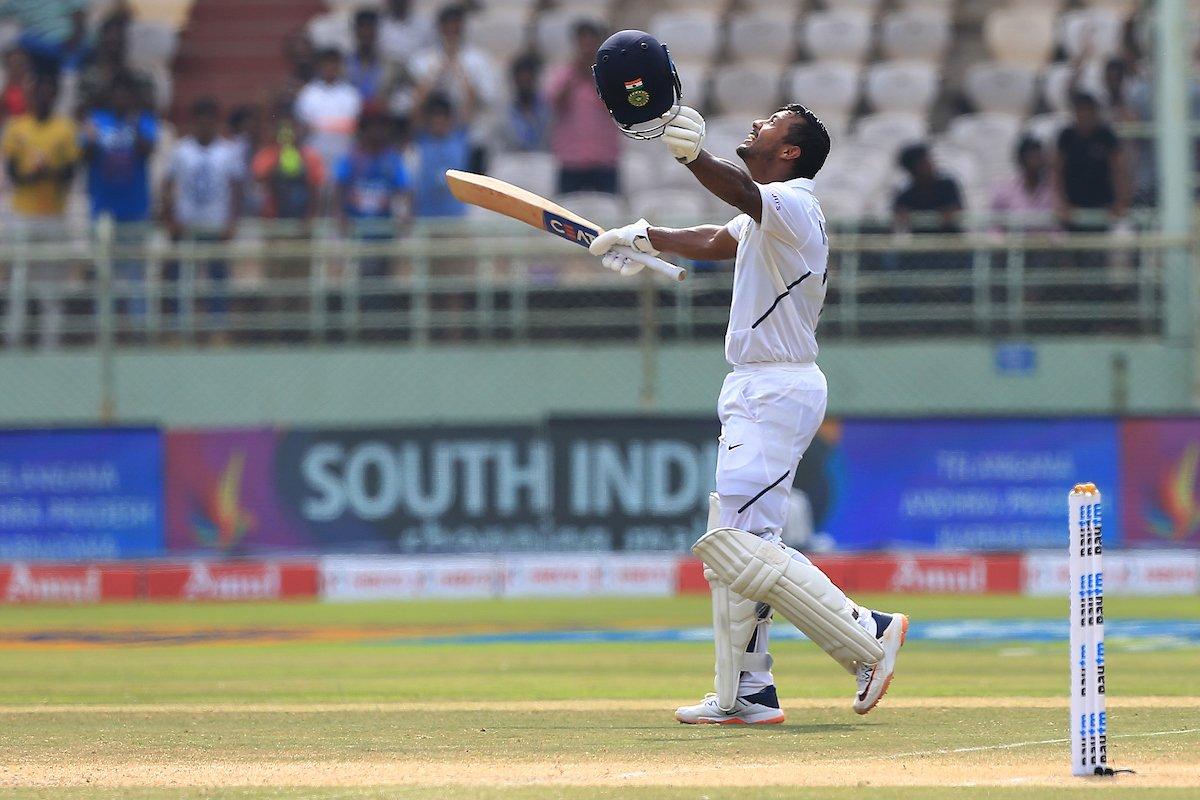 Mayank Agarwal Test Career