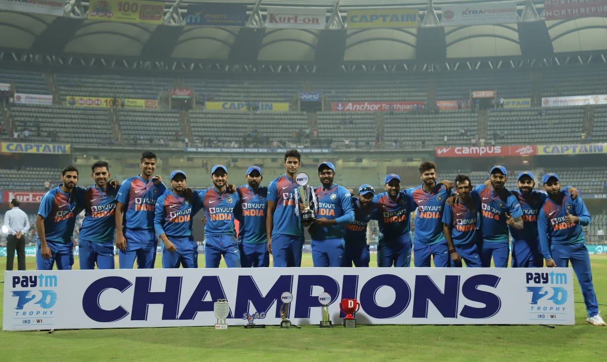 India vs West Indies T20I Series
