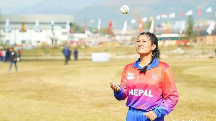 Women Cricket - Nepali Girl Anjali Chand registers an illustrious feat