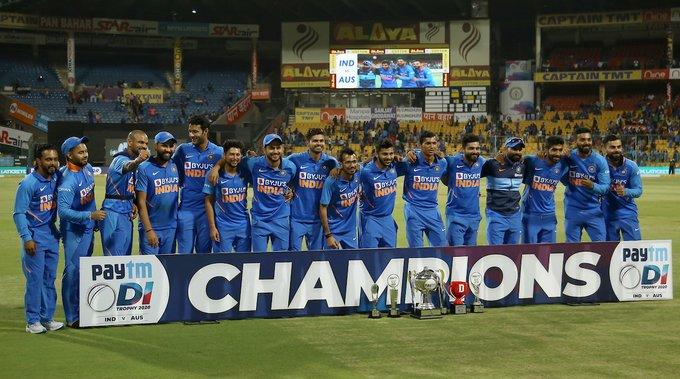 India-Australia ODIs