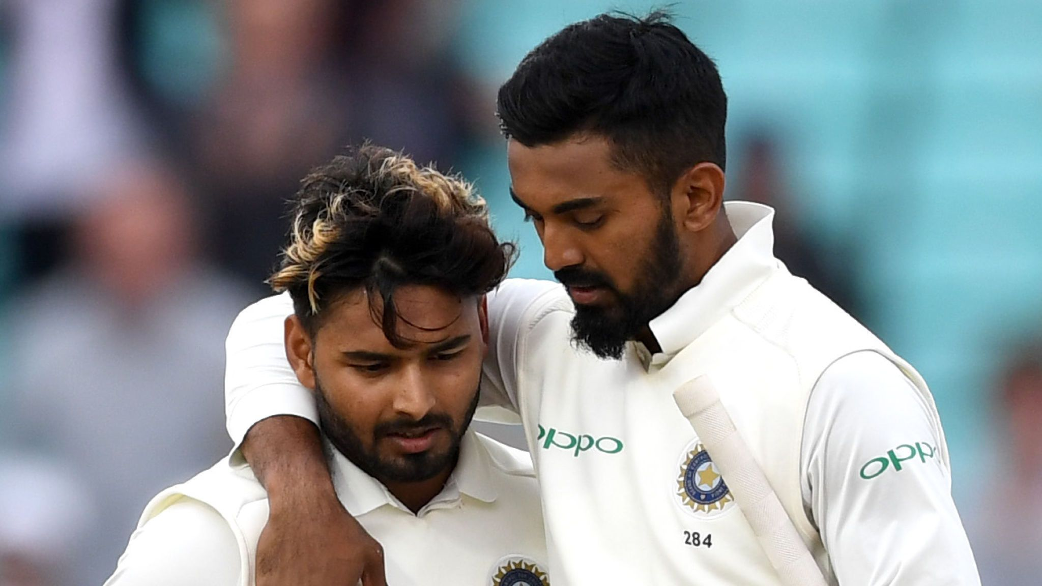 KL Rahul and Rishabh Pant together make an explosive duo | Image Source: Sky Sports