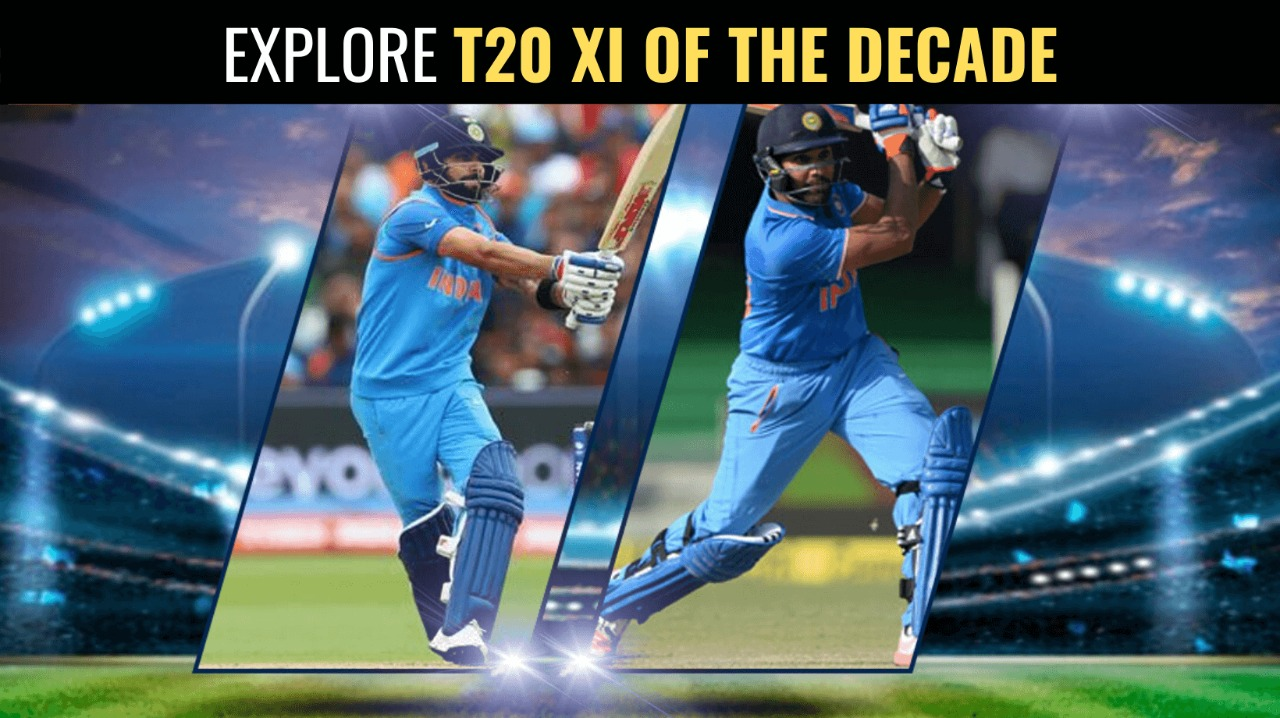 Explore T20 XI of the Decade