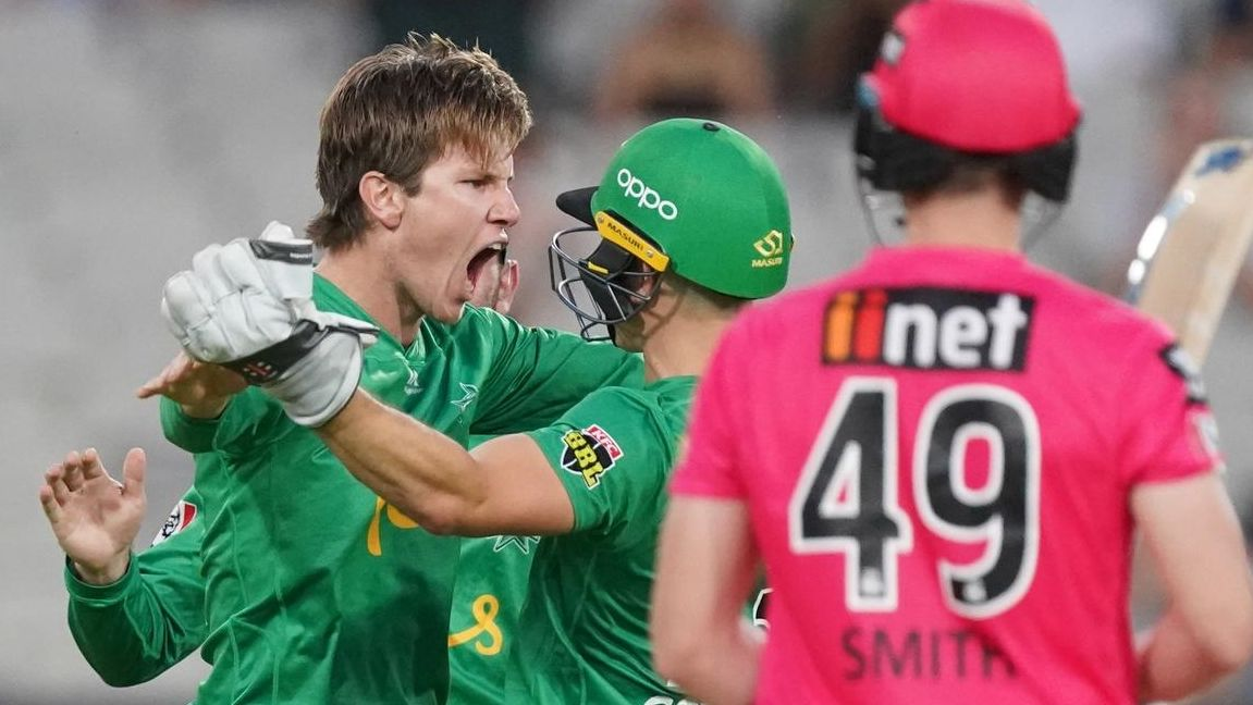 BBL 2020: Sydney Sixers Pip Melbourne Stars in a Rain Hit Final 1