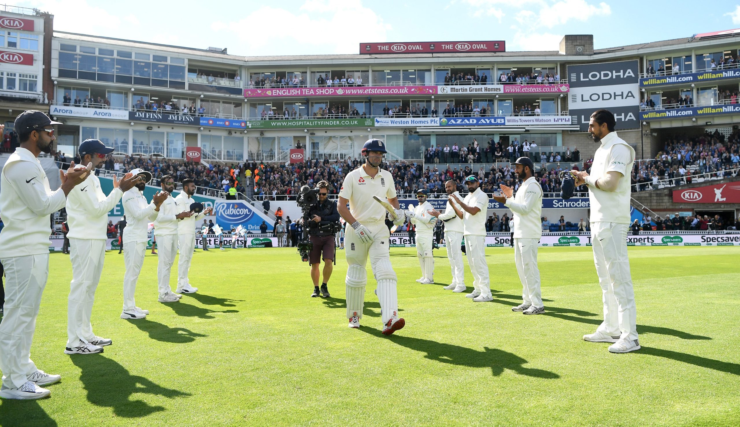 How sweating in the spirit of Cricket led to a raging war? 7