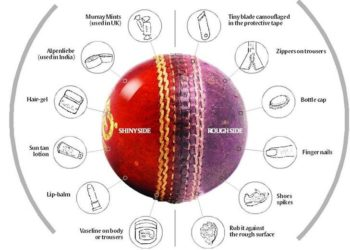 5 Shameful Ball Tampering Incidents In Cricket History