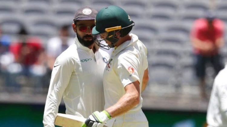 Australian Players Scared of Sledging Kohli
