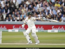 Steve Smith leaving the ball in one of the most unusual ways. (Image Credits: NDTV Sports)