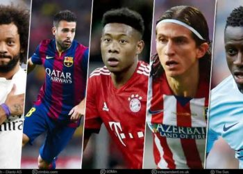 Top 5 Left-Backs In The World