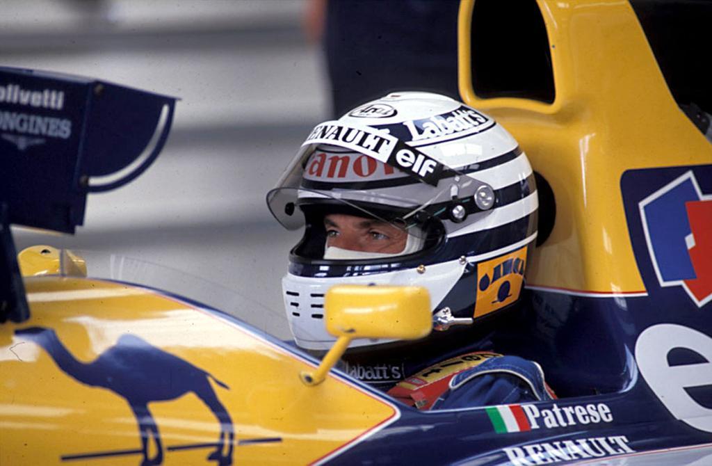 Riccardo Patrese in the F1 Cockpit