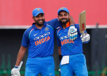 Virat Kohli, Rohit Sharma ruling ODI batting charts since 2017