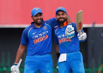 Virat Kohli, Rohit Sharma ruling ODI batting charts since 2017