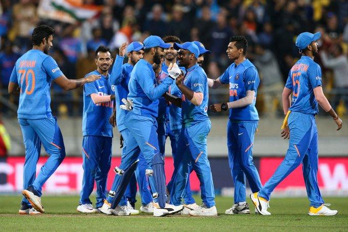 Virat Kohli during ODI against NZ